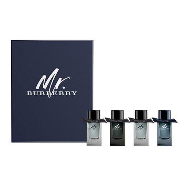 Burberry 1X Mr B Eau De Parfum 5Ml And 1X Mr B Indigo And 2X Mr B Eau De Toilette