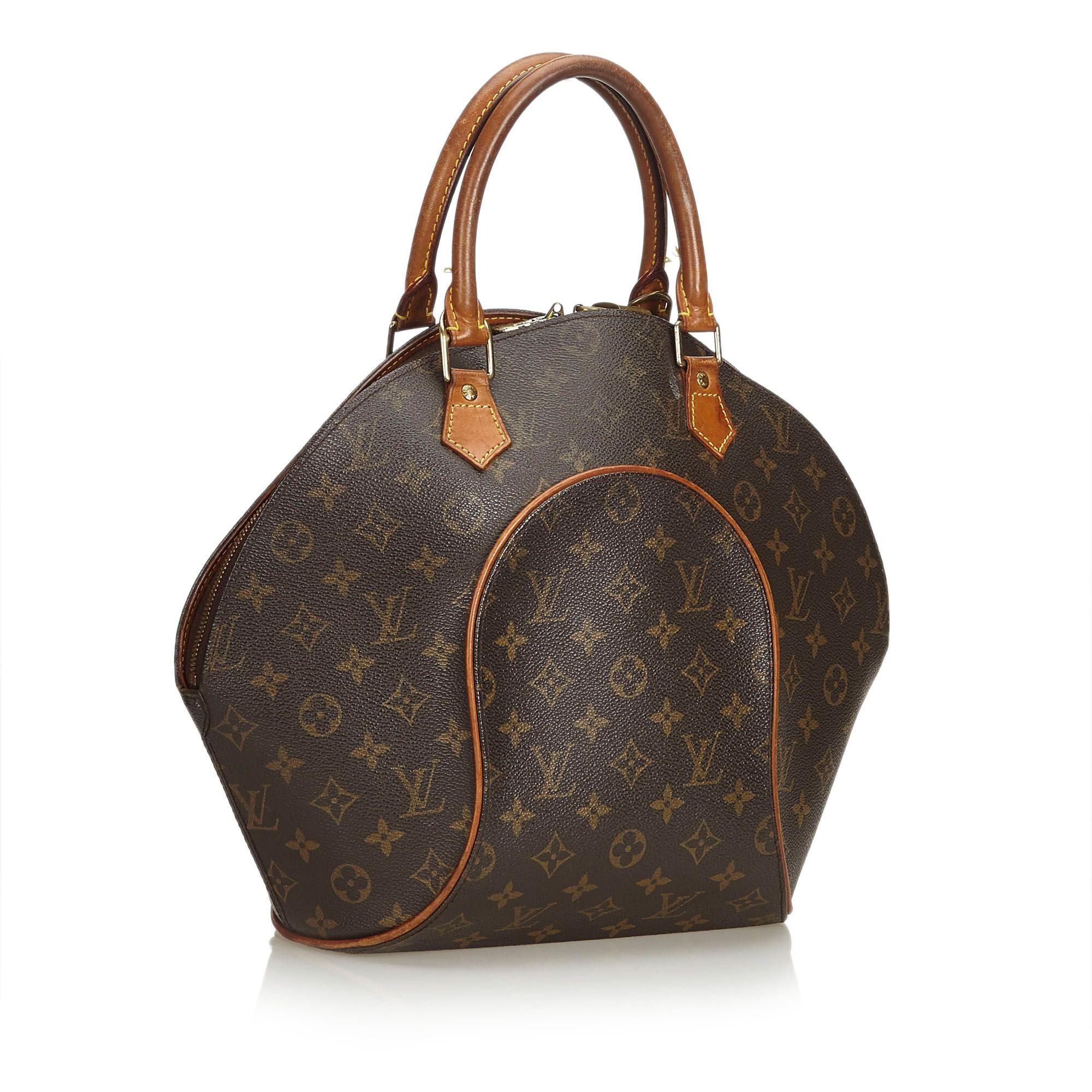 Vintage Louis Vuitton Monogram Ellipse MM Brown