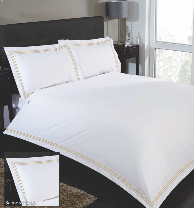 Balmoral Single Duvet Set Gold