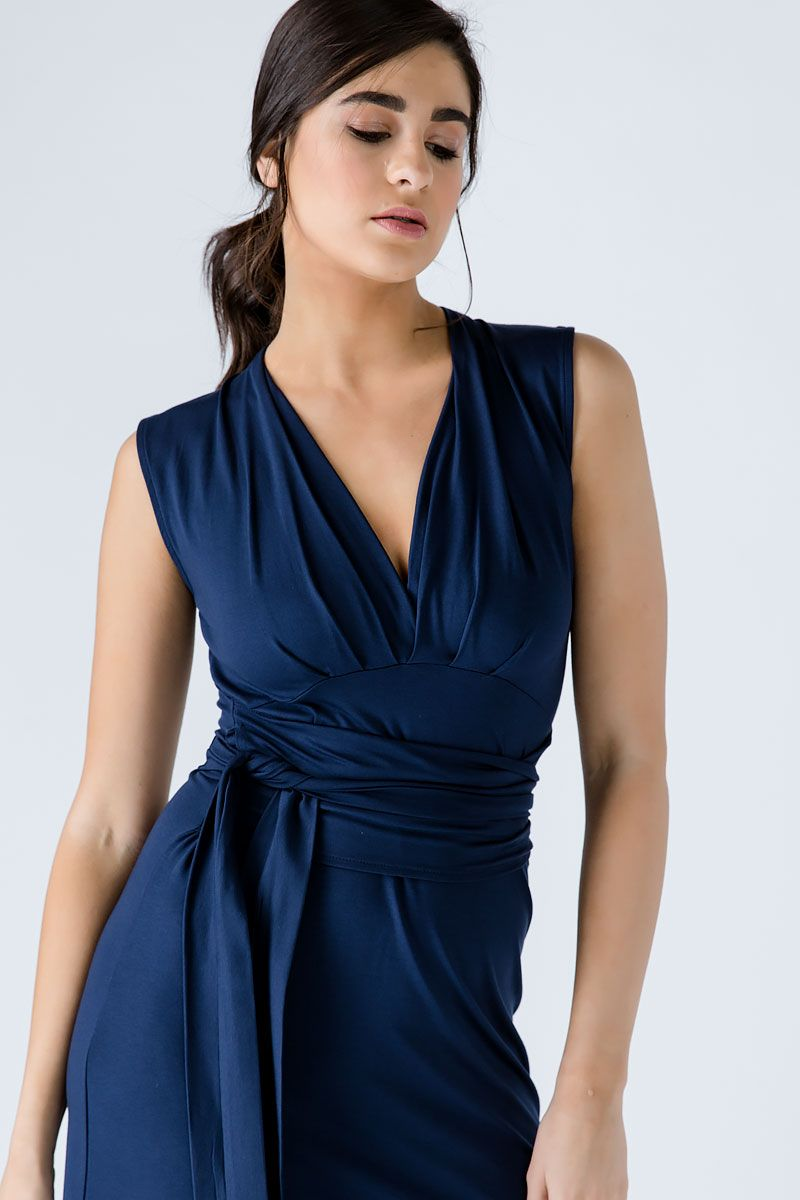 Sleeveless Empire Line Dress