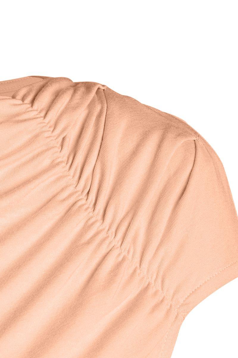 Sleeveless Asymmetrical Top