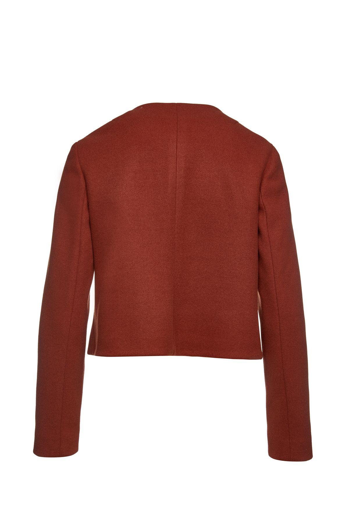 Brick Red Mouflon Winter Jacket