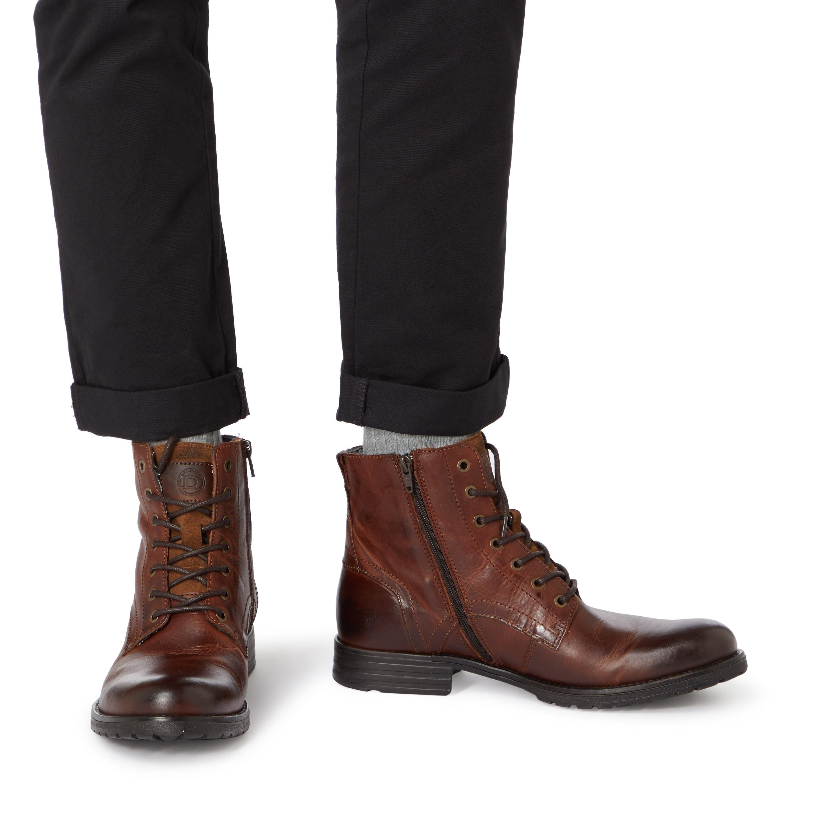 Dune Mens CARDIF Lace Up Boots