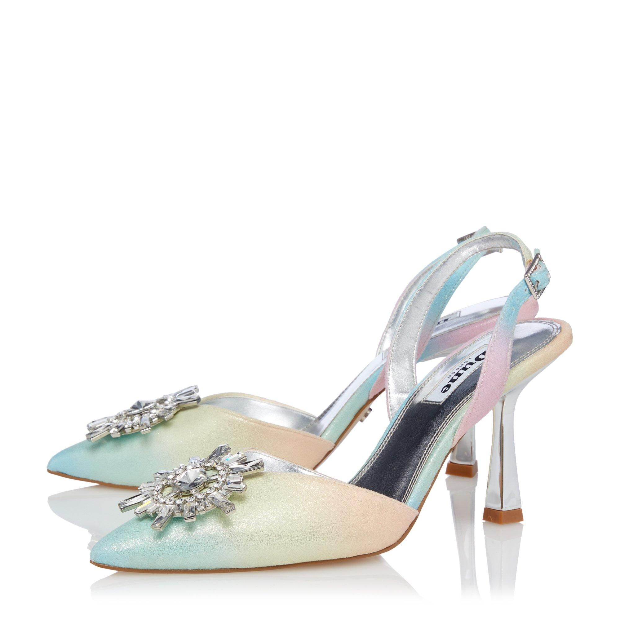 Dune Ladies CASIS Brooch Slingback Heel