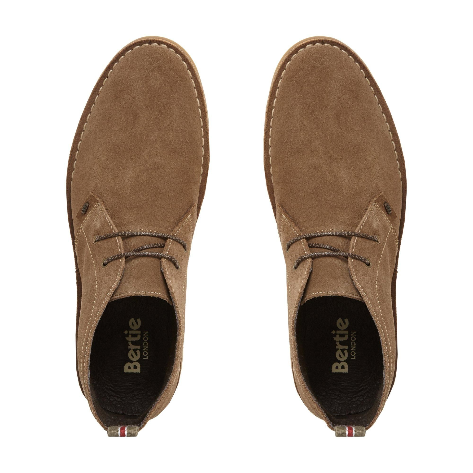 Bertie Mens CASTLE II Lace Up Desert Boots
