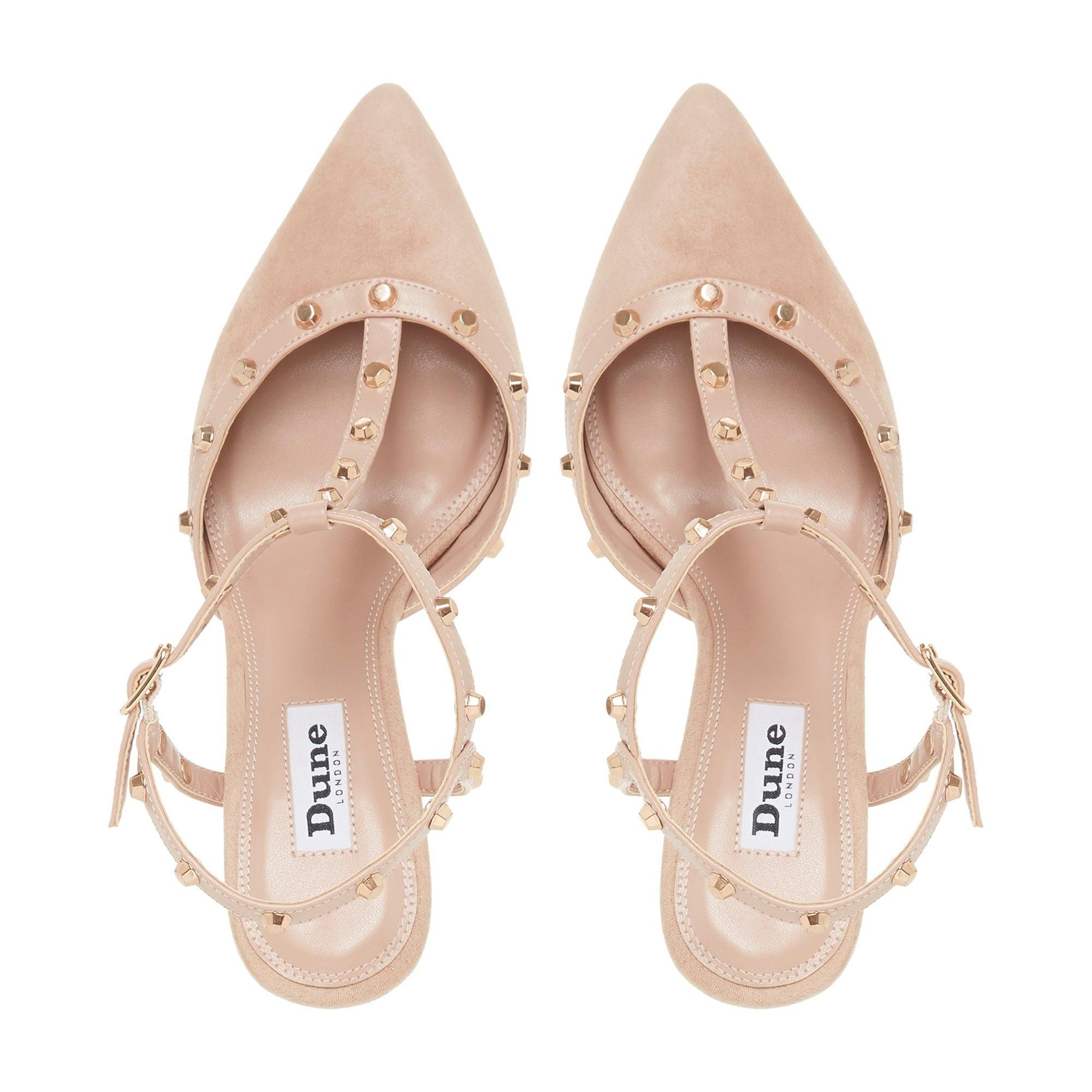 Dune Ladies CATELYNN Studded Court Shoes