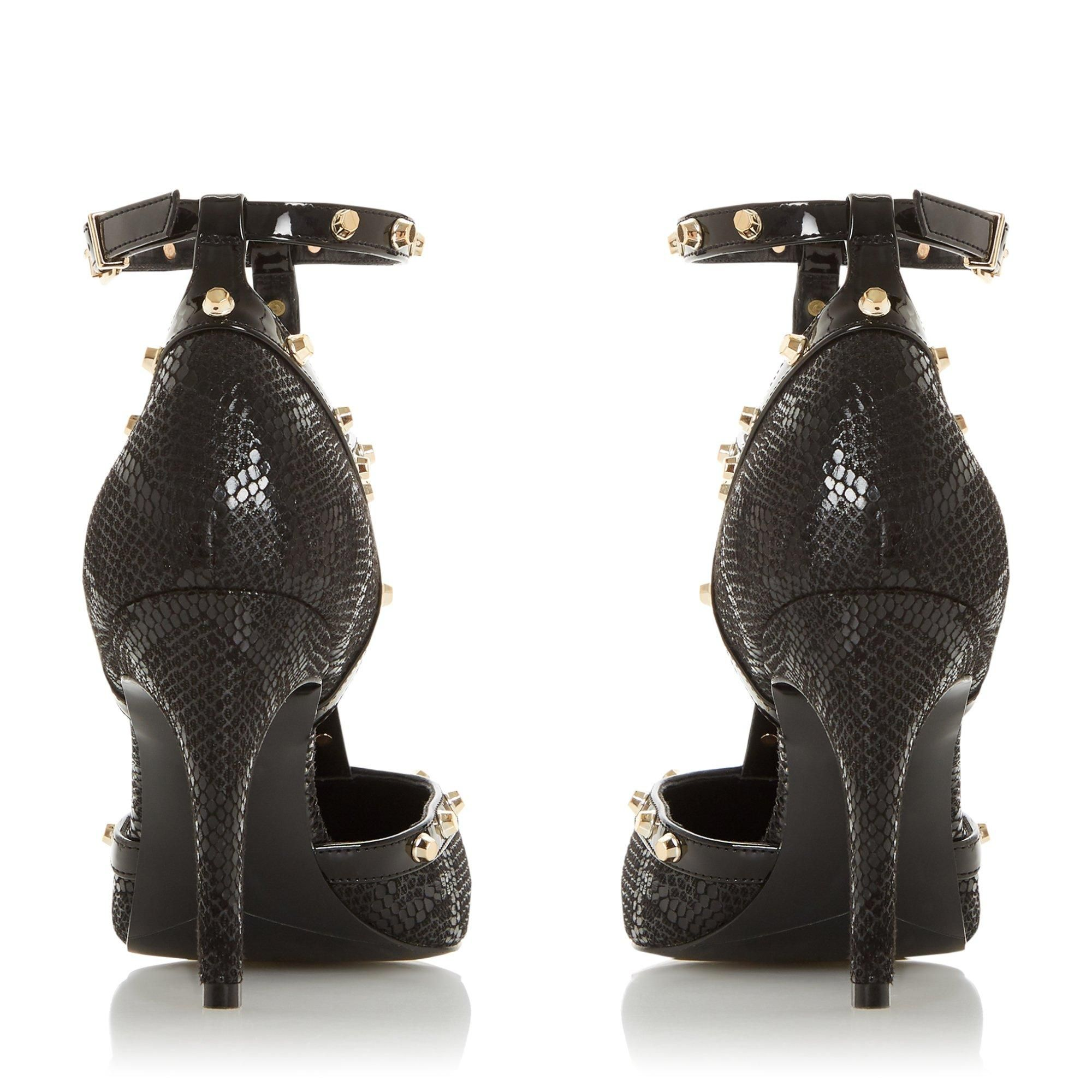 Dune Ladies CLEA Studded Pointed Heeled Court Shoes