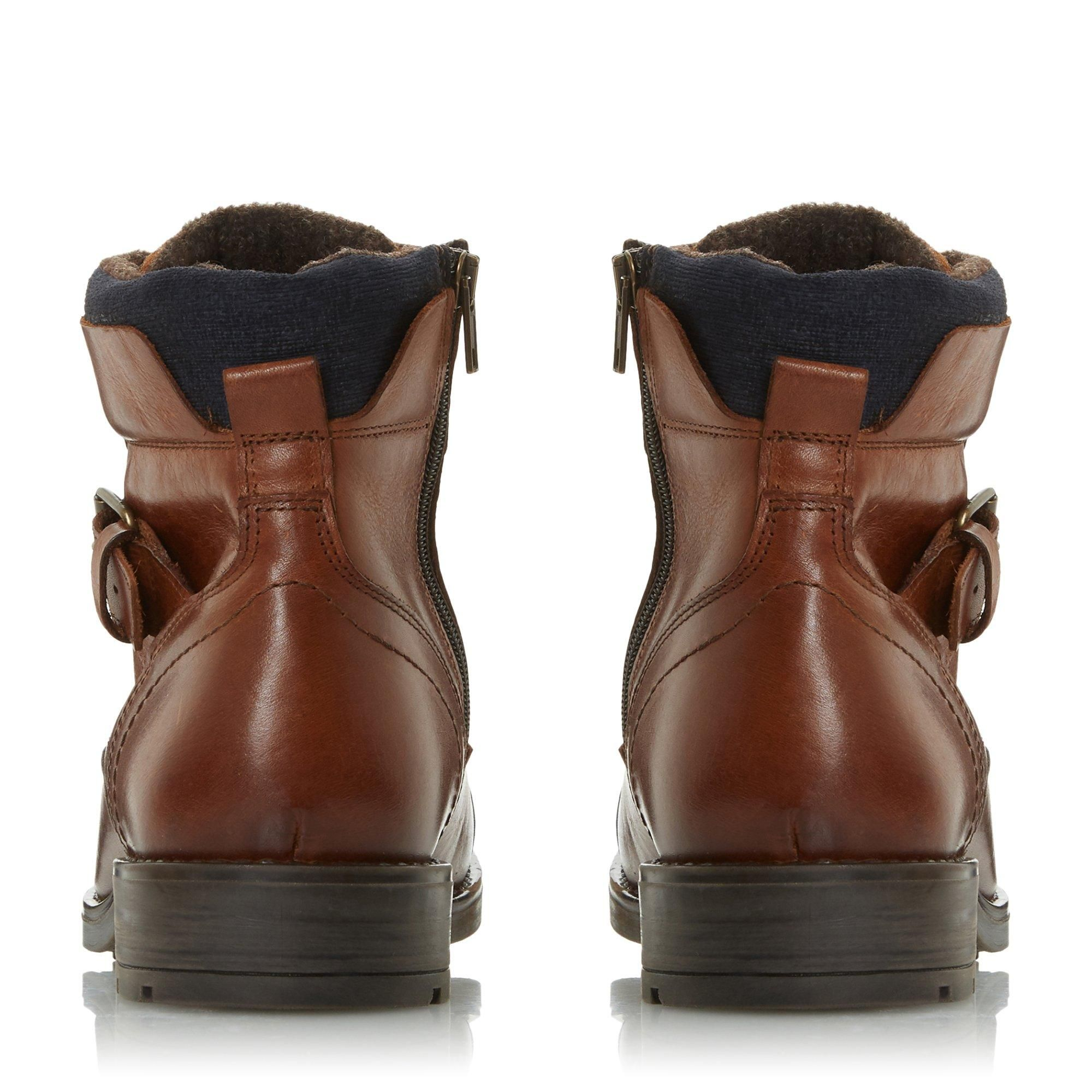 Dune Mens COMMONN Side Zip Boots