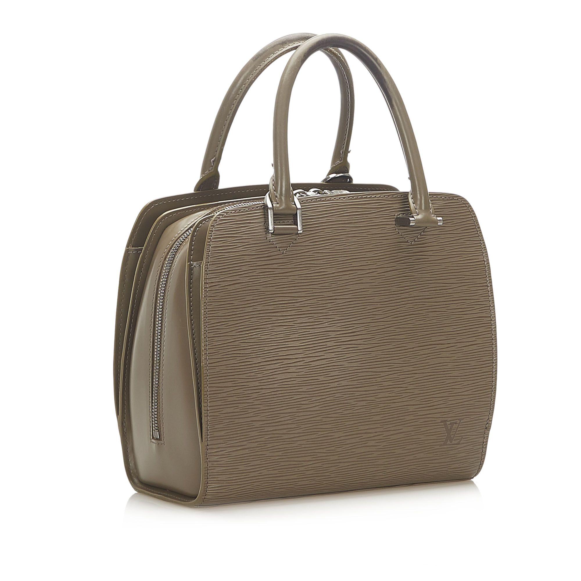 Vintage Louis Vuitton Epi Pont Neuf Gray