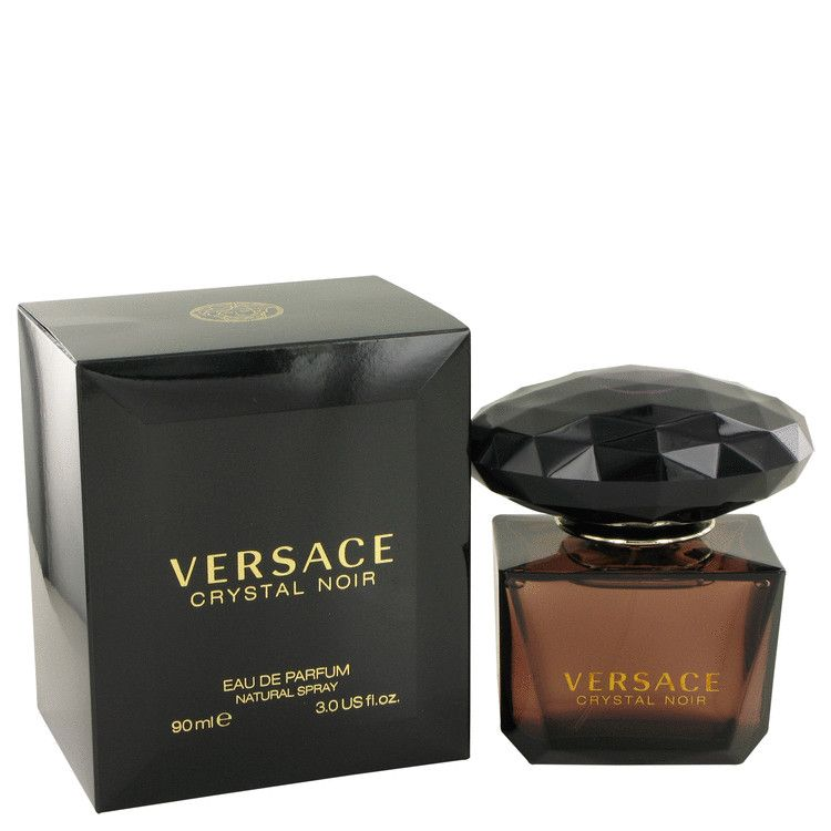 Crystal Noir Eau De Parfum Spray By Versace 90 ml