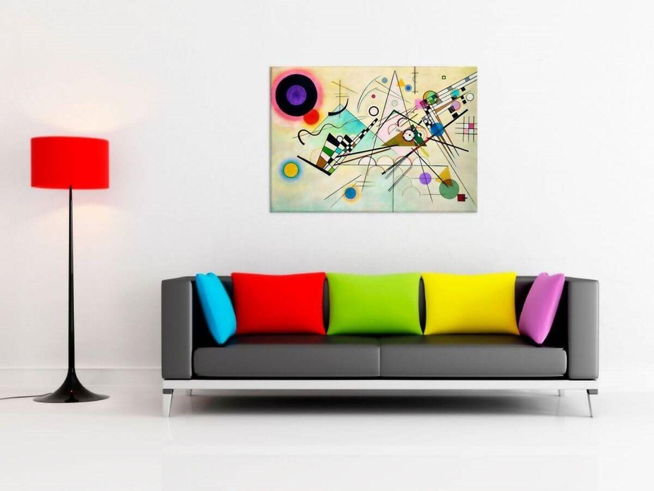 Canvas Print - Composition Viii - Wassily Kandinsky