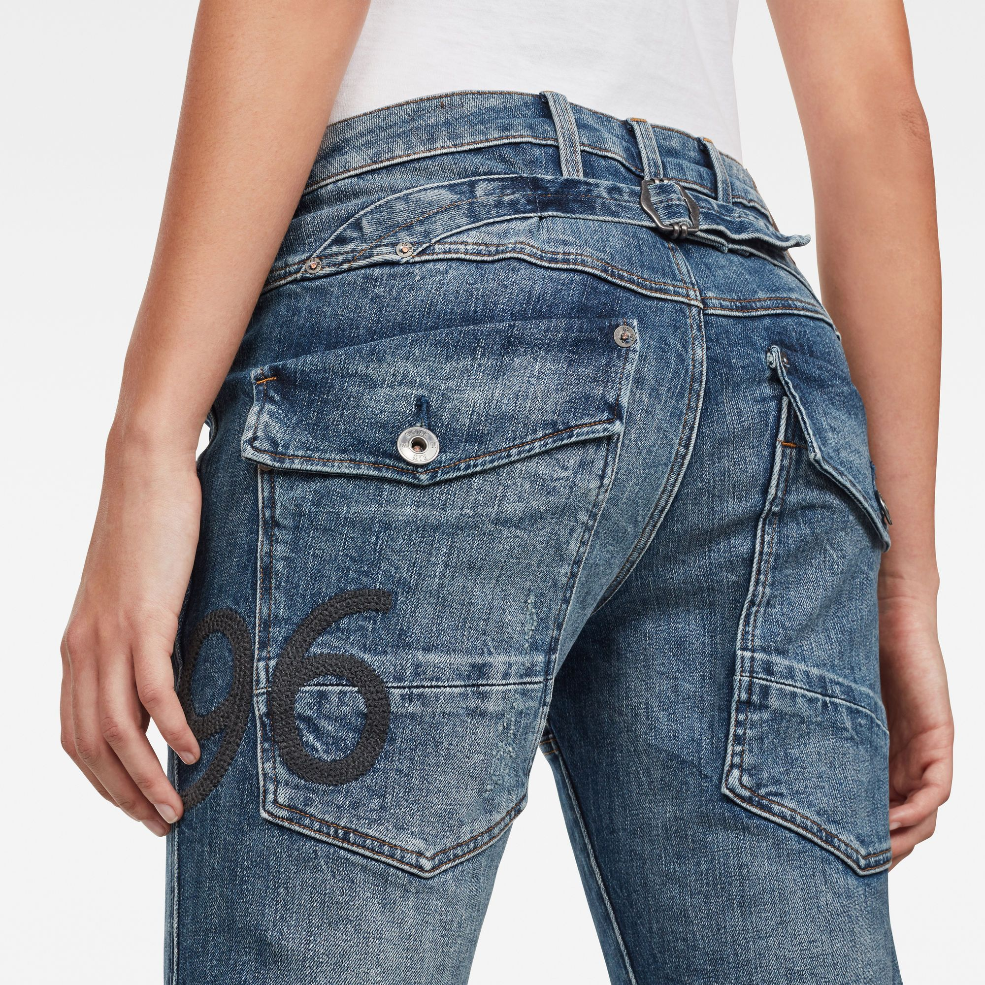 G-Star RAW 5620 Heritage Embro Tapered Jeans