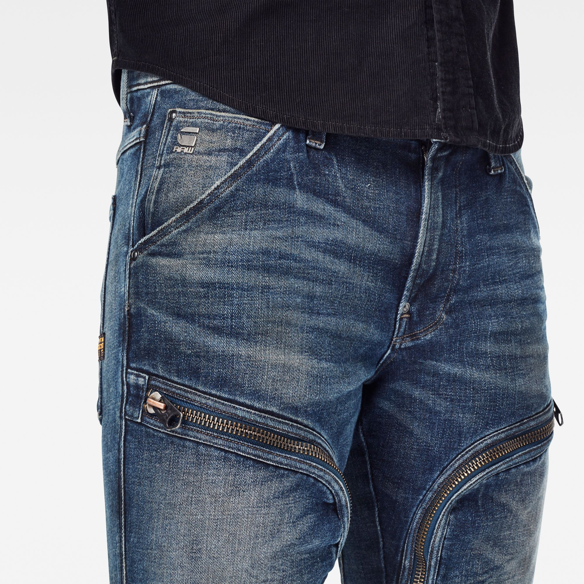 G-Star RAW Air Defence Zip Skinny Jeans