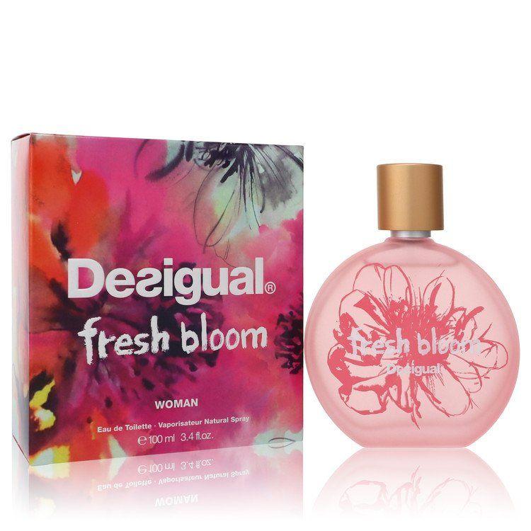 Desigual Fresh Bloom Eau De Toilette Spray By Desigual 100 ml