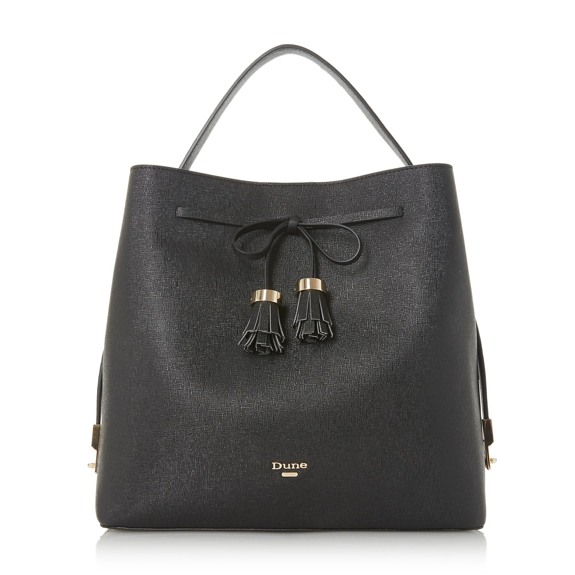 Dune DESS Bow Tassel Day Bag