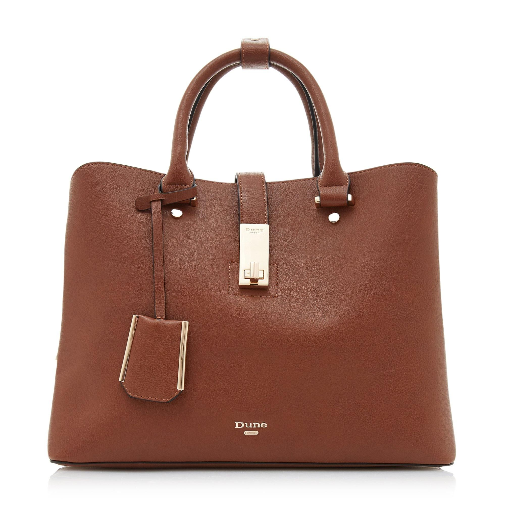 Dune DIELLA Triple Compartment Unlined Shopper Bag