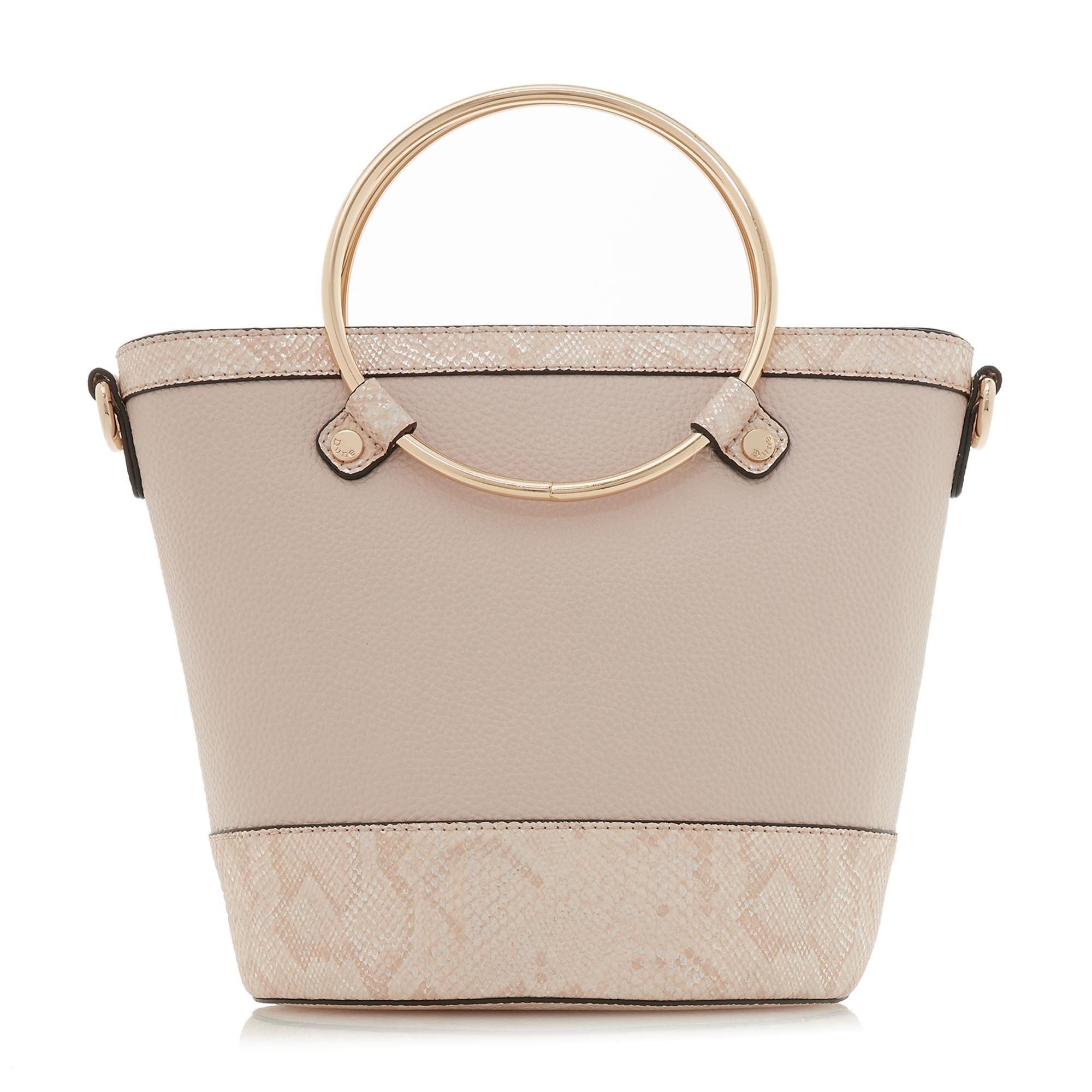 Dune DIRCLE Circle Handle Shopper Bag