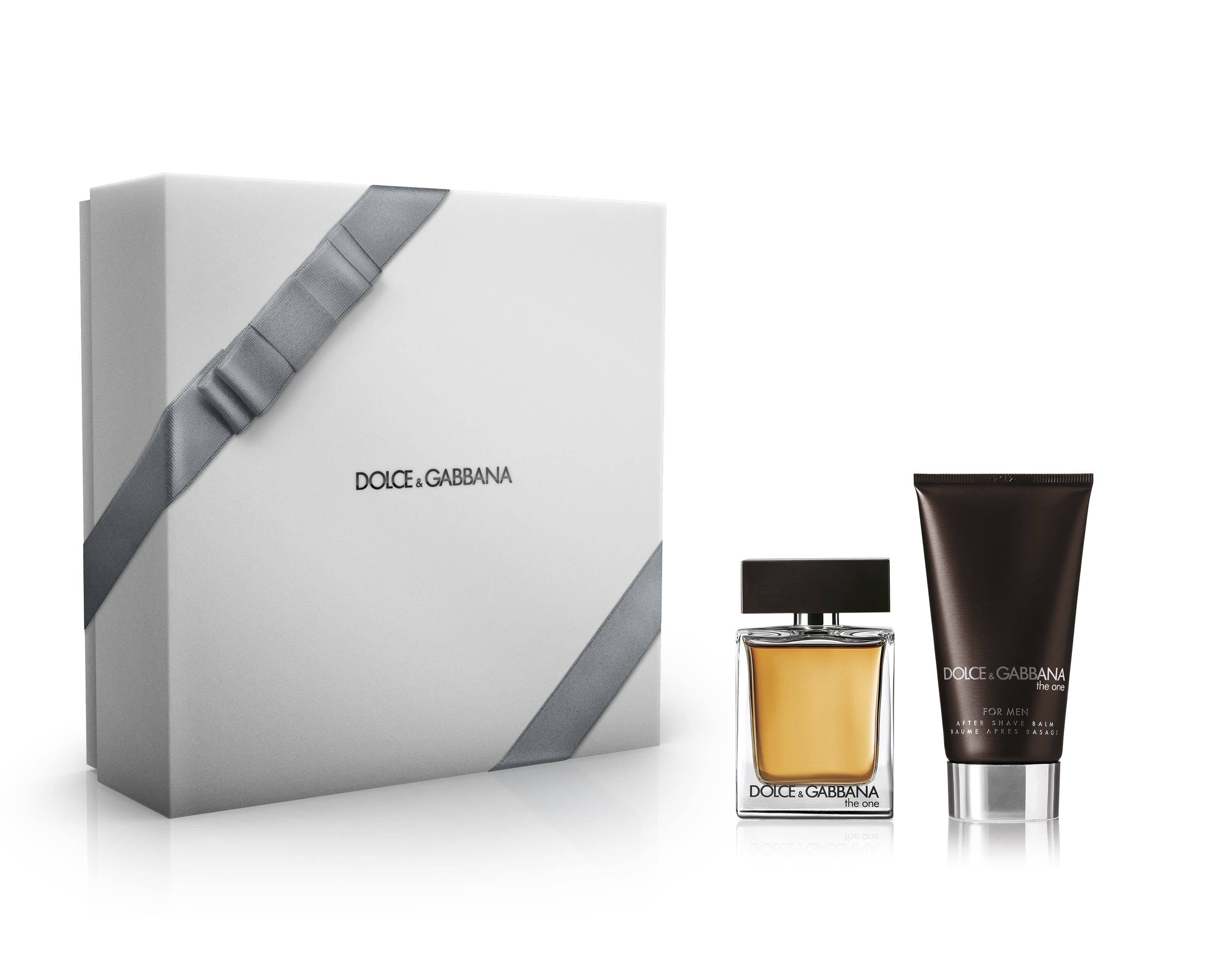Dolce And Gabbana The One For Men Gift Set Eau De Toilette 50Ml And 75Ml After Shave Balm