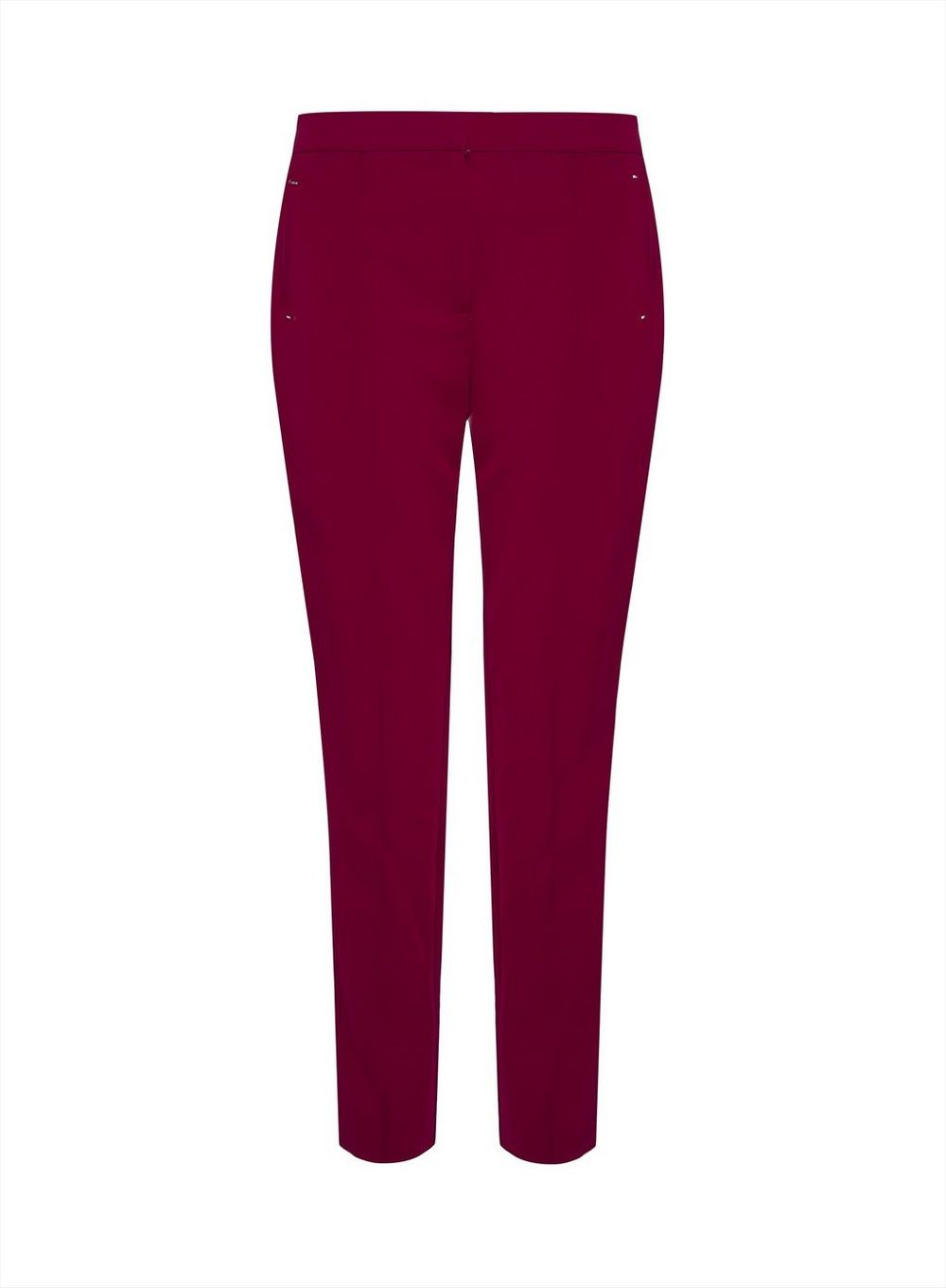 Dorothy Perkins Womens Tall Crimson Tailored Trousers Bottoms Pants Formal Work