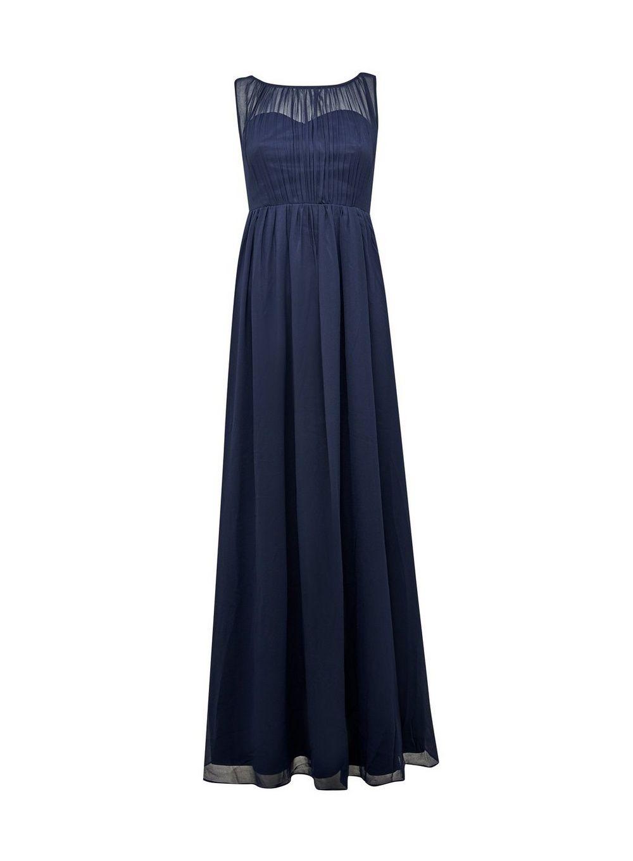 Dorothy Perkins Womens Showcase Maternity Blue Natalie Maxi Dress Bridesmaids