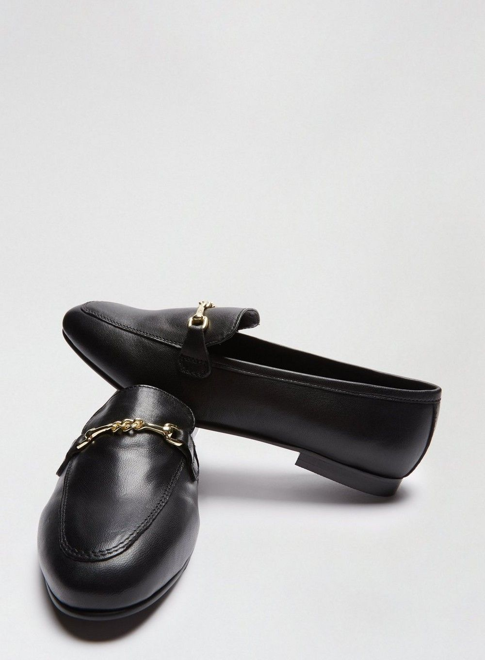 Dorothy Perkins Womens Black Liza Loafers Comfort Slip On Flats Shoes Moccasin