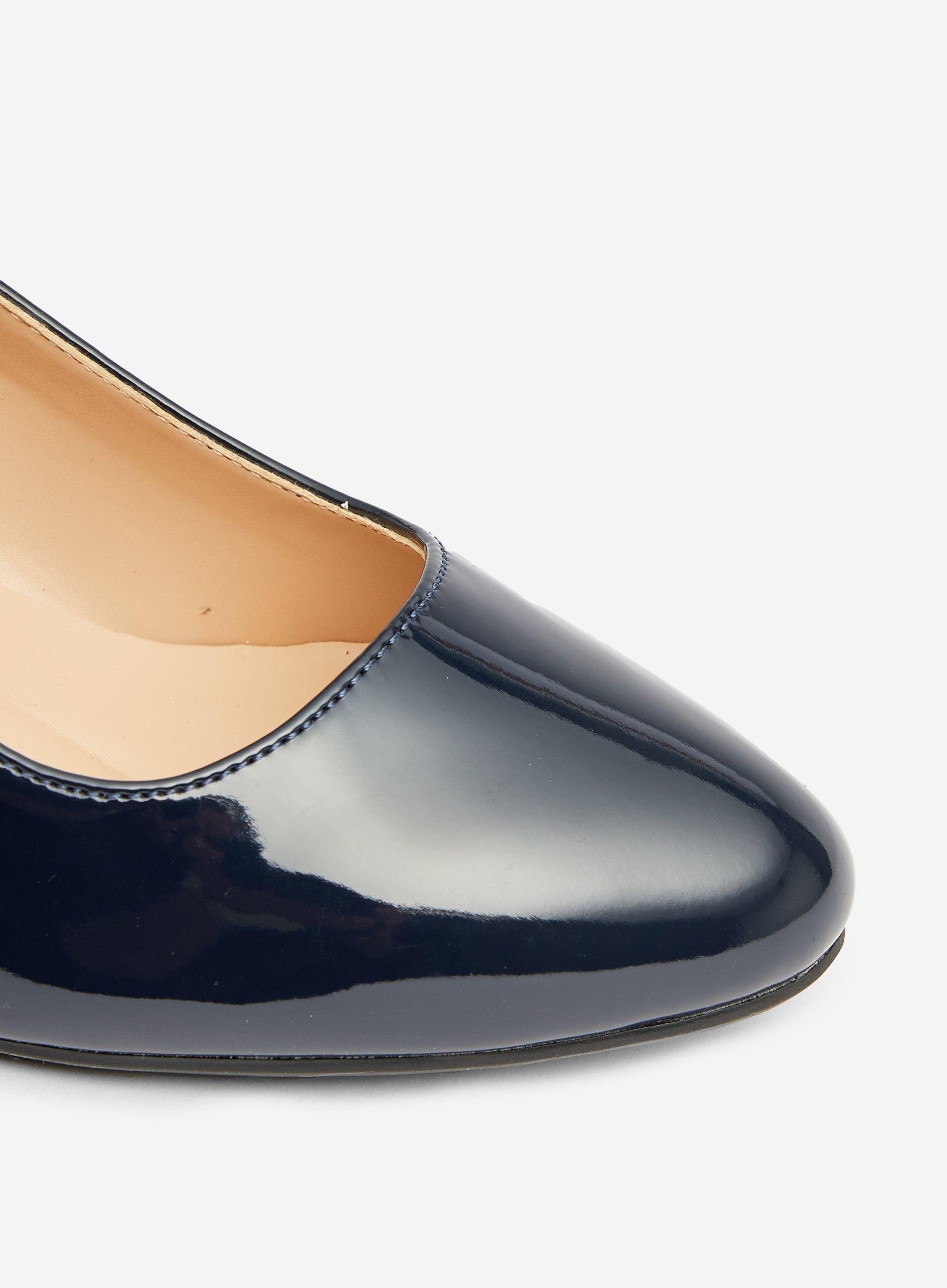 Dorothy Perkins Womens Wide Fit Navy Comfort Dreamers Wedge Court Shoes Heels