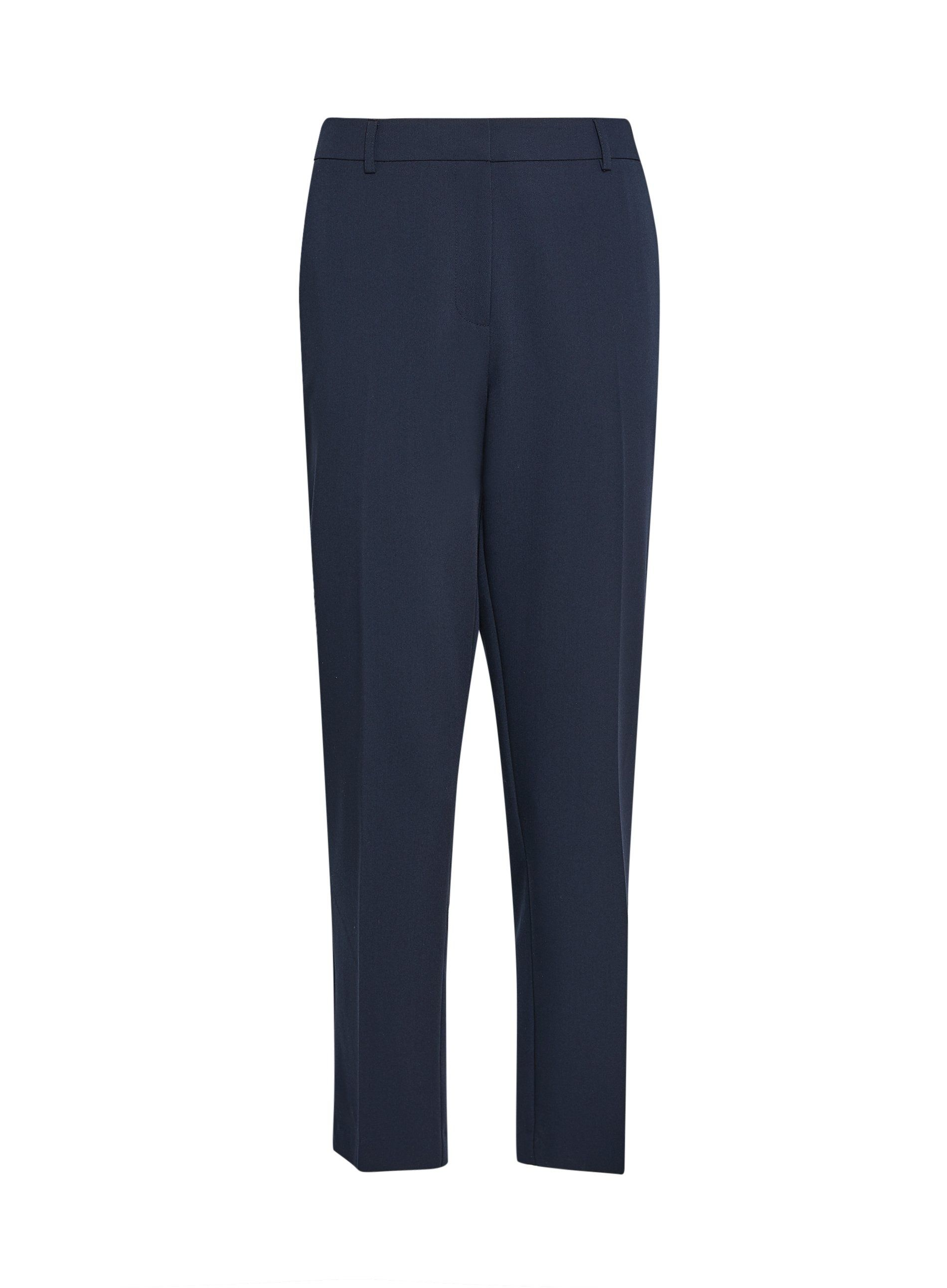 Dorothy Perkins Womens Navy Ankle Grazer Trousers Casual Bottoms Pants Leggings