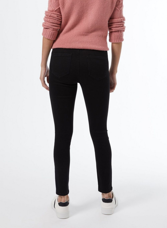 Dorothy Perkins Womens Petite Black Shape and Lift Denim Jeans Pants Trousers