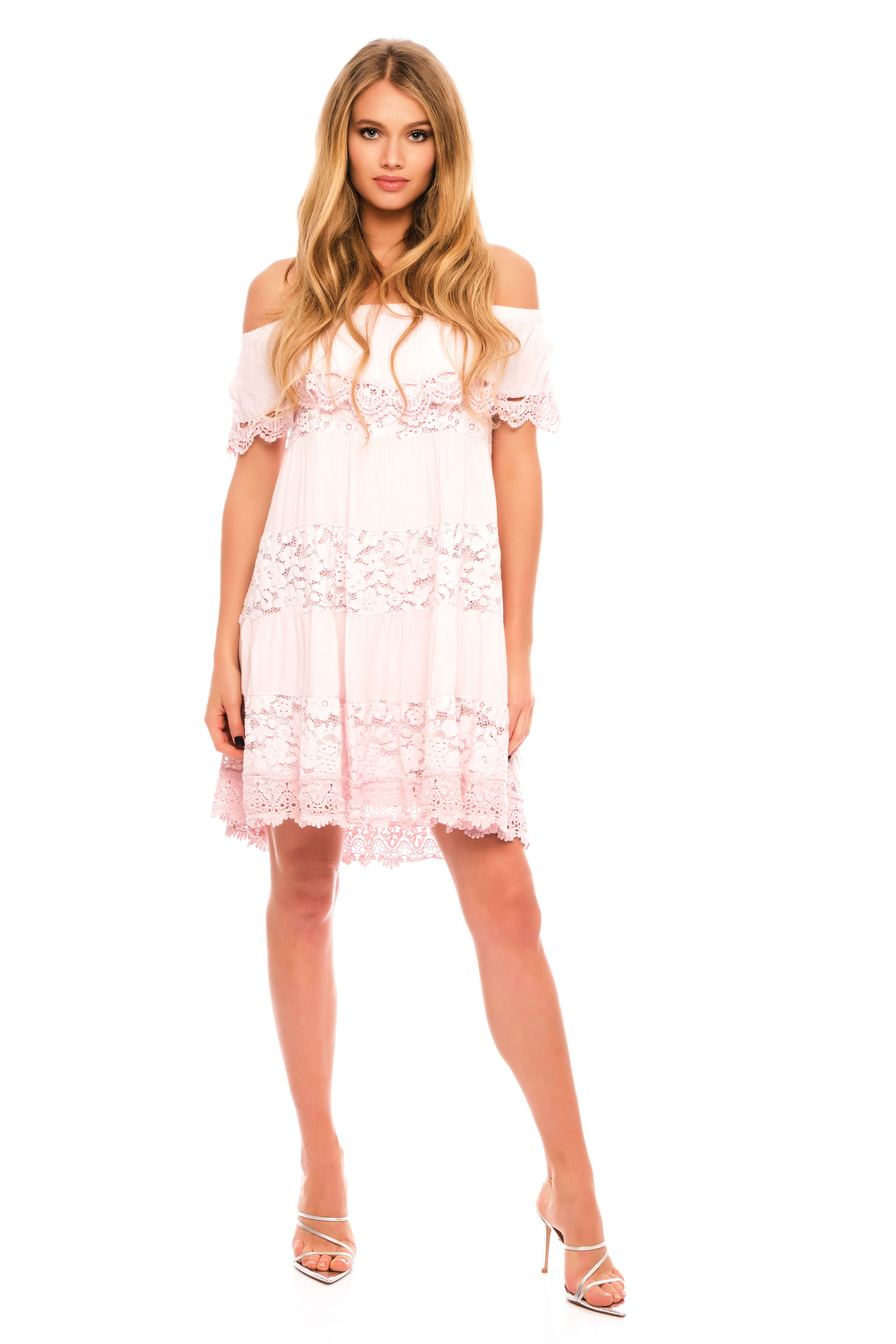 Nina Off The Shoulder Mini Dress