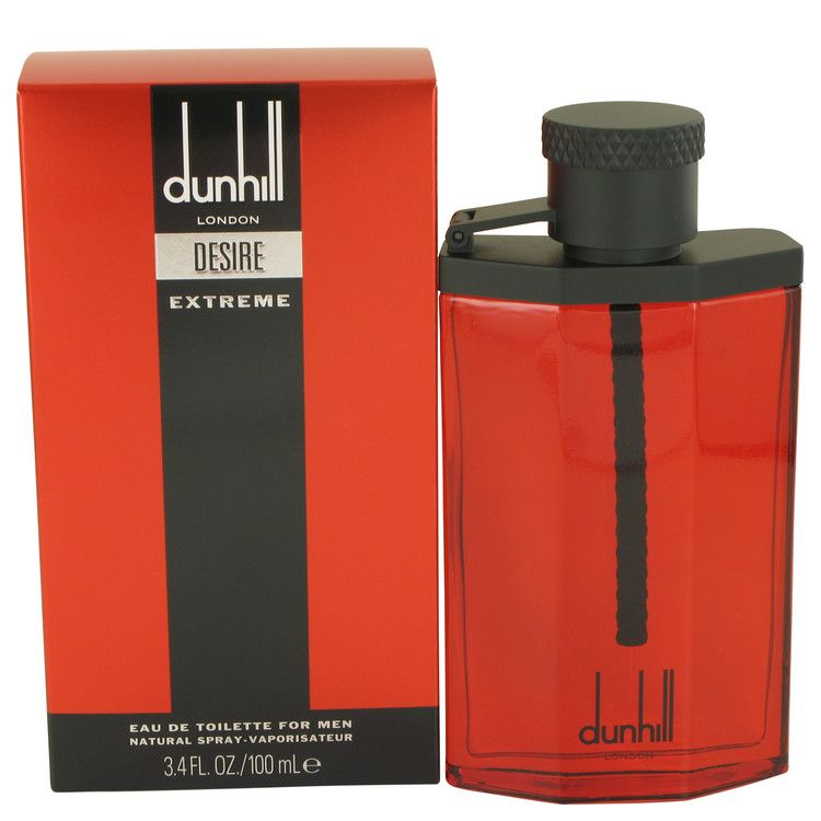 Desire Red Extreme Eau De Toilette Spray By Alfred Dunhill 100 ml
