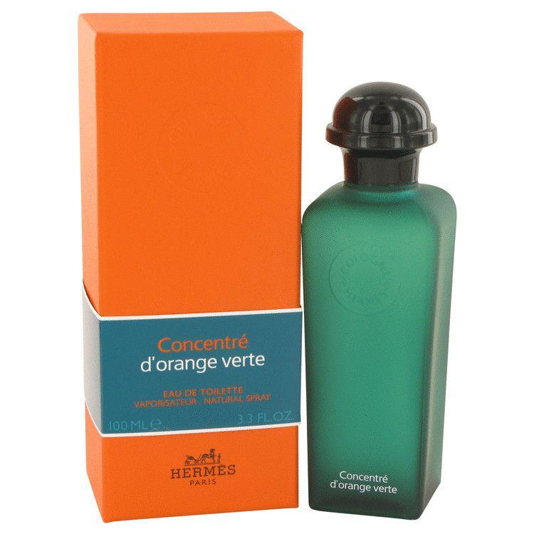 Eau D'orange Verte Eau De Toilette Spray Concentre (Unisex) By Hermes 100 ml