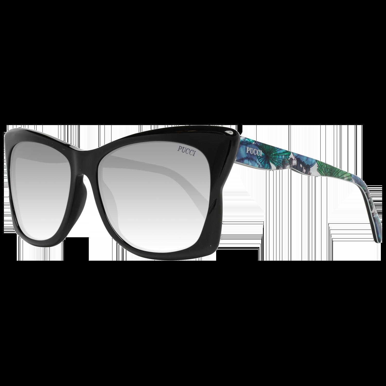 Emilio Pucci Sunglasses EP0050 01C 59 Women Black