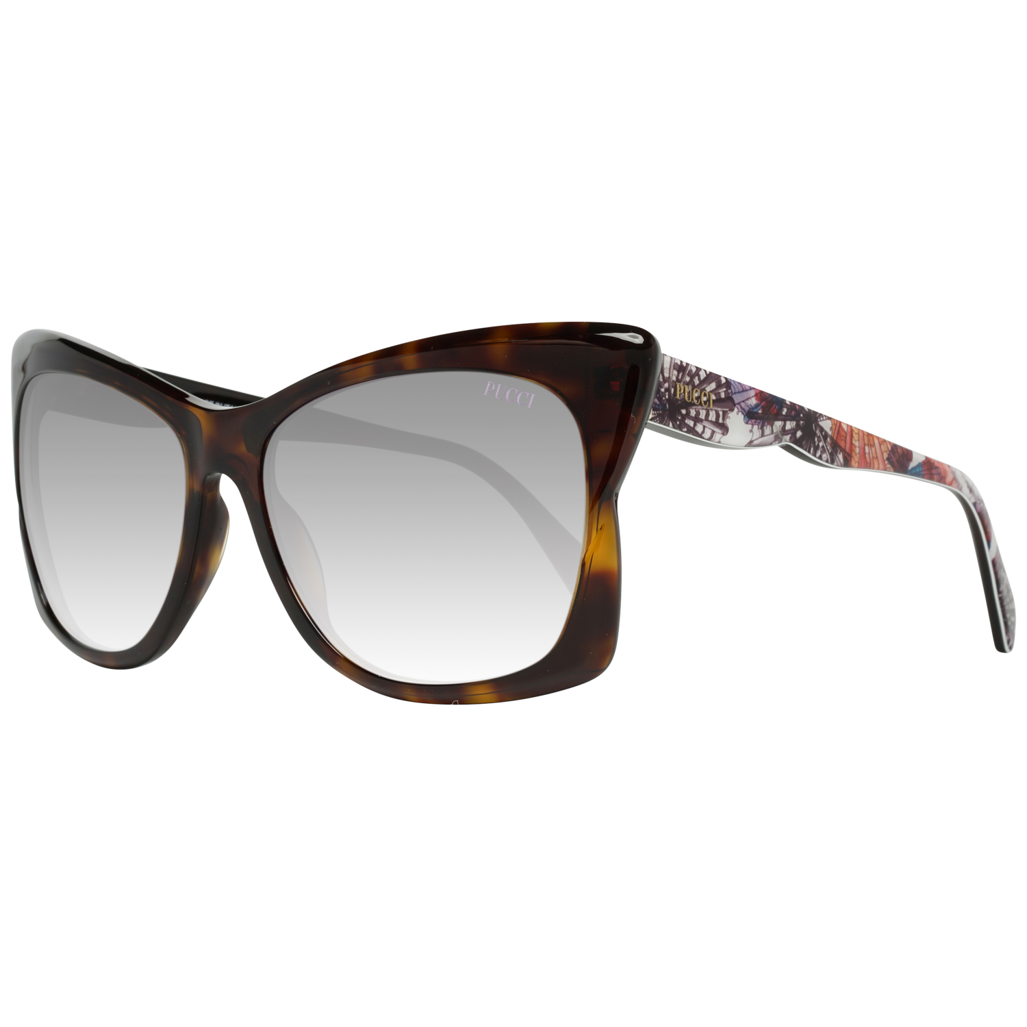 Emilio Pucci Sunglasses EP0050 52Z 59 Women Brown
