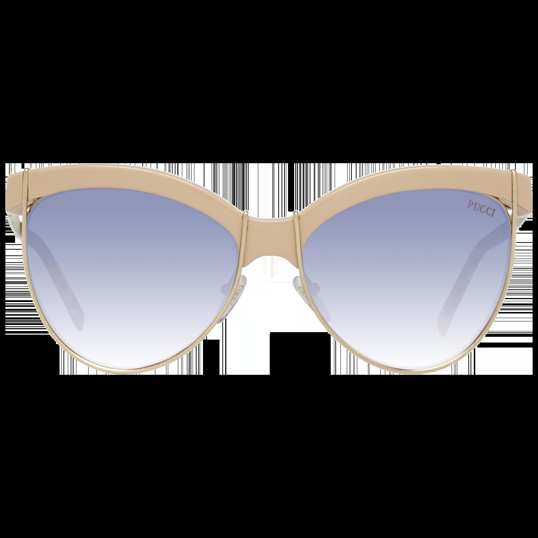 Emilio Pucci Sunglasses EP0057 74Z 57 Women Gold