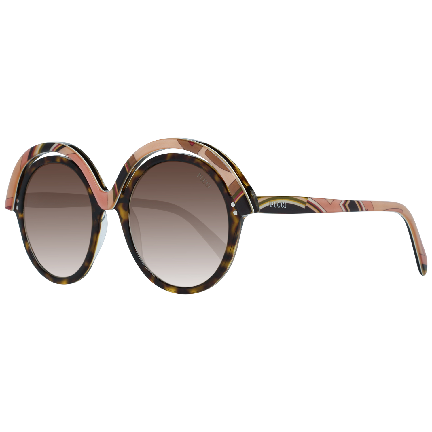 Emilio Pucci Sunglasses EP0065 56F 53 Women Multicolor