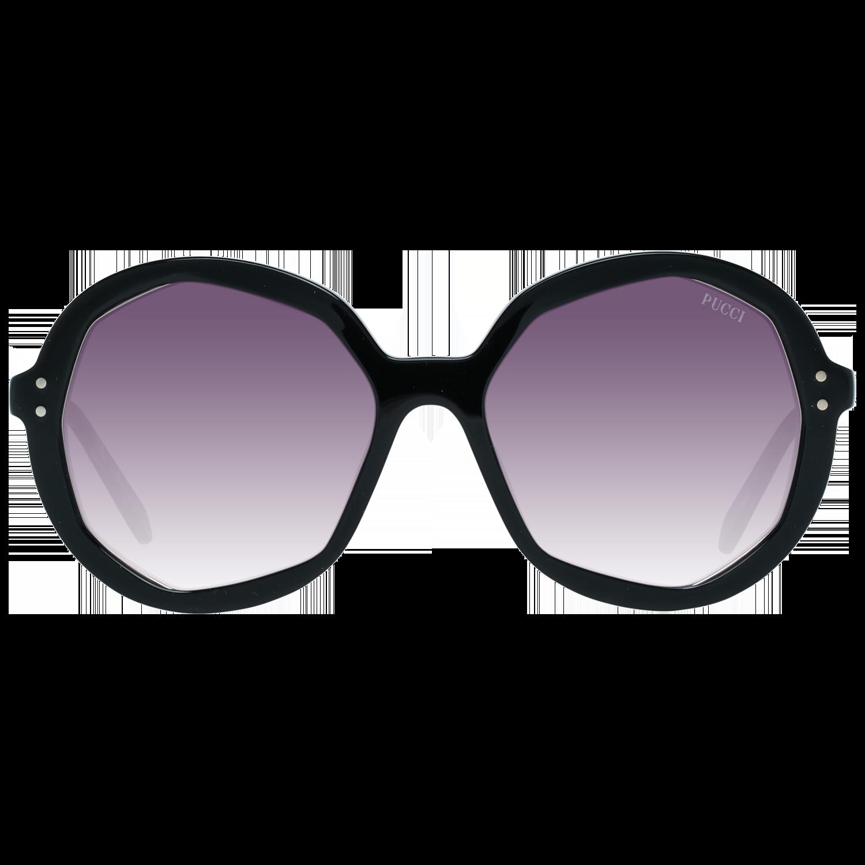 Emilio Pucci Sunglasses EP0086 01B 55 Women Black