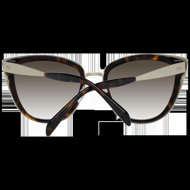 Emilio Pucci Sunglasses EP0092 52F 55 Women Brown
