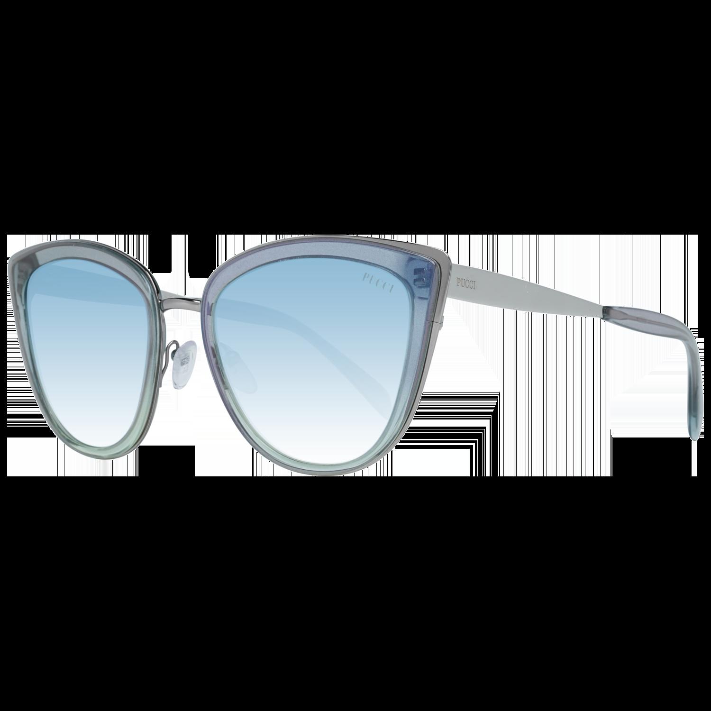 Emilio Pucci Sunglasses EP0092 86X 55 Women Blue
