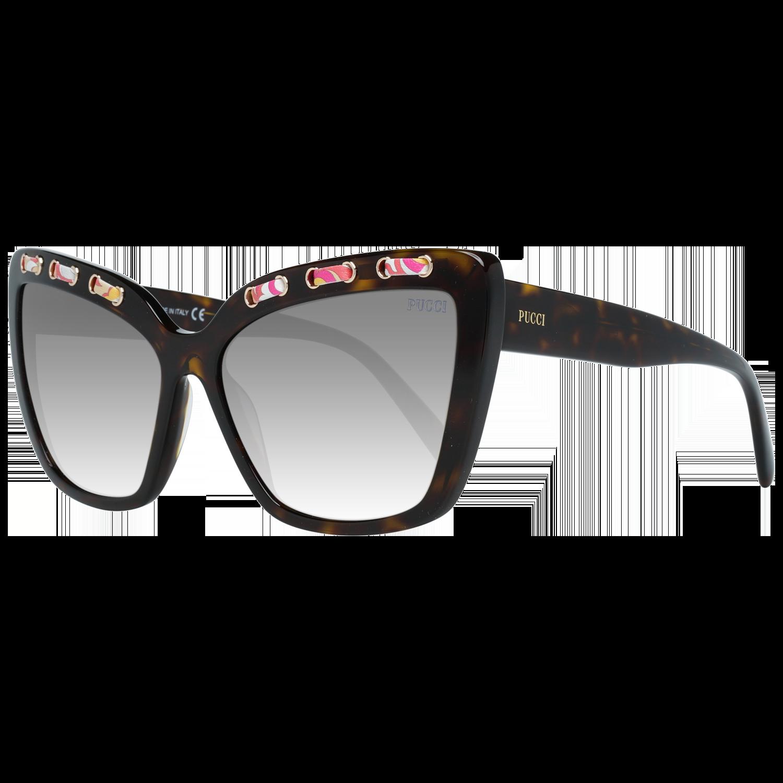 Emilio Pucci Sunglasses EP0101 52B 59 Women Brown