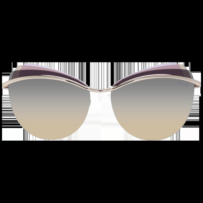 Emilio Pucci Sunglasses EP0112 28B 59 Women Gold