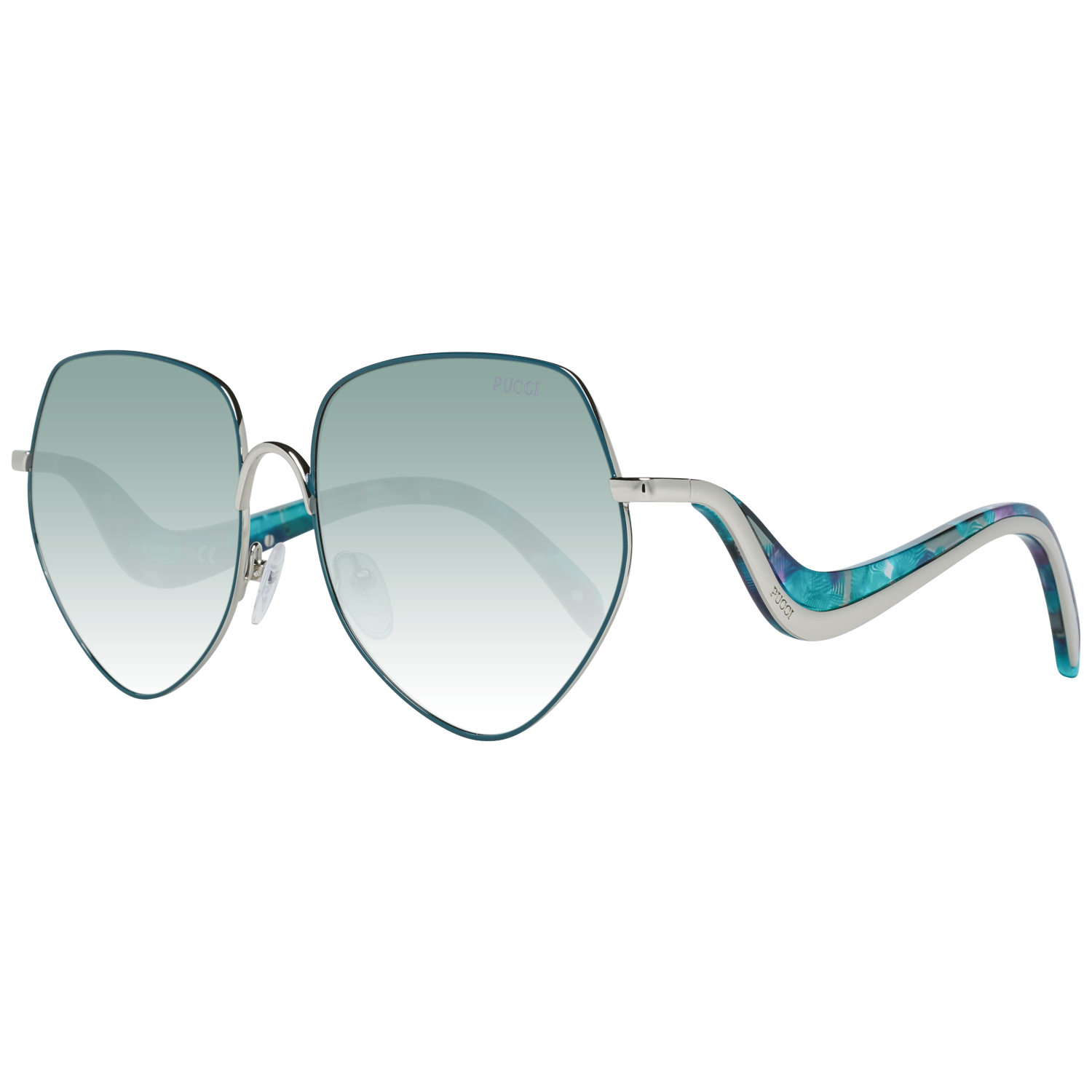 Emilio Pucci Sunglasses EP0119 16B 59 Women Green
