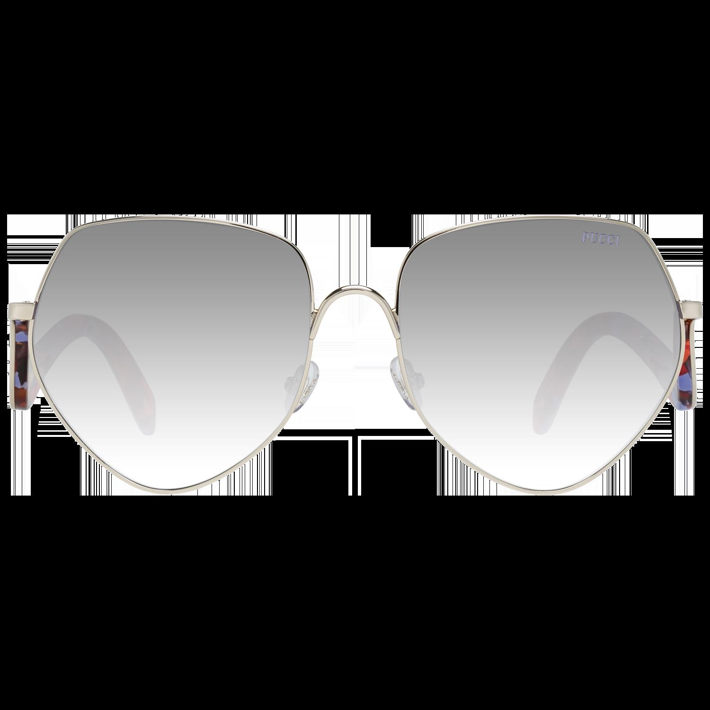 Emilio Pucci Sunglasses EP0119 28G 59 Women Gold