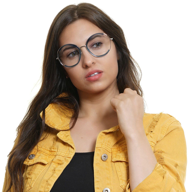Emilio Pucci Optical Frame EP5089 089 54 Women Turquoise