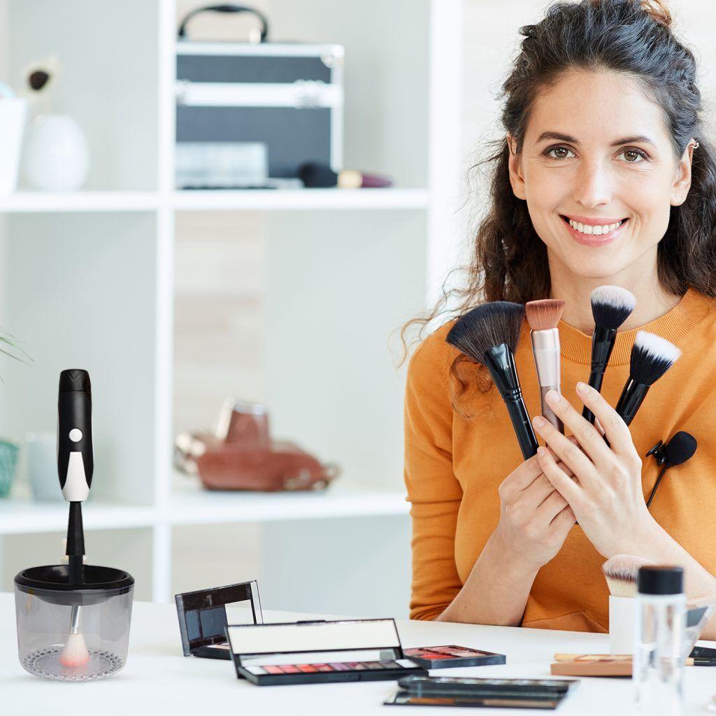 Envie Make Up Brush Cleaner Black
