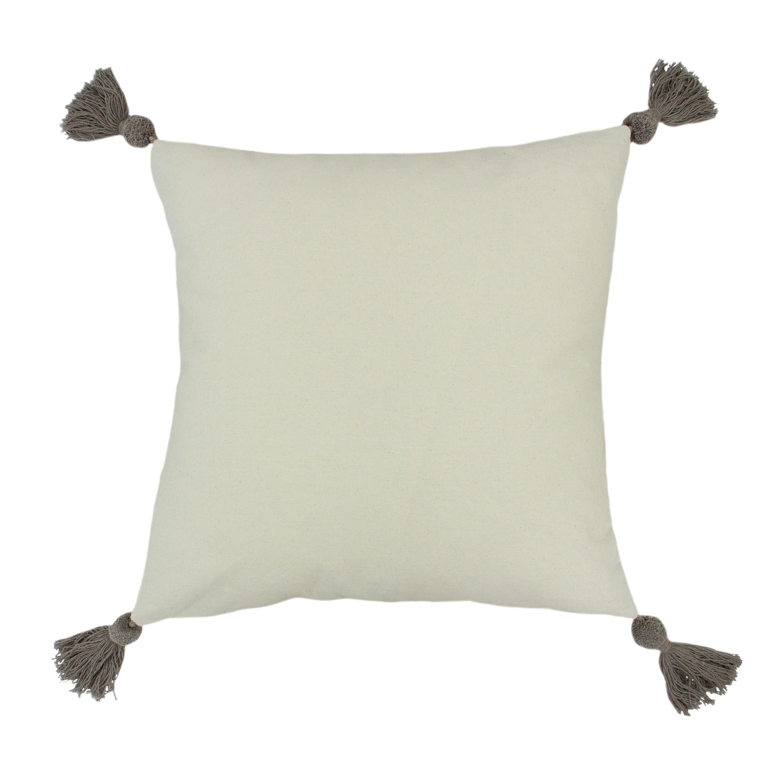 Ezra 50X50 Poly Cushion Grey