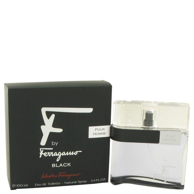 F Black Eau De Toilette Spray By Salvatore Ferragamo 100 ml