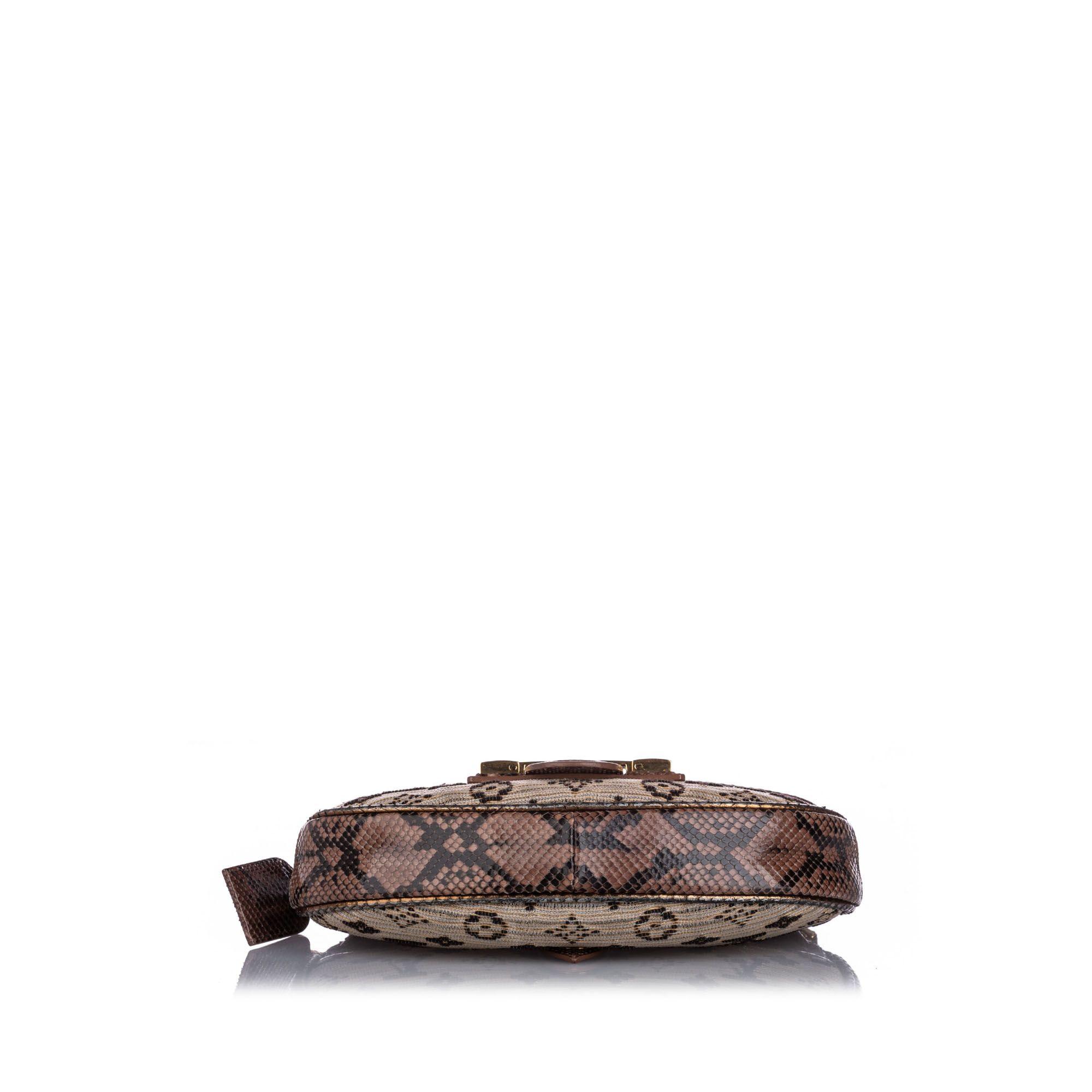 Vintage Louis Vuitton Monogram Empire Levant Brown