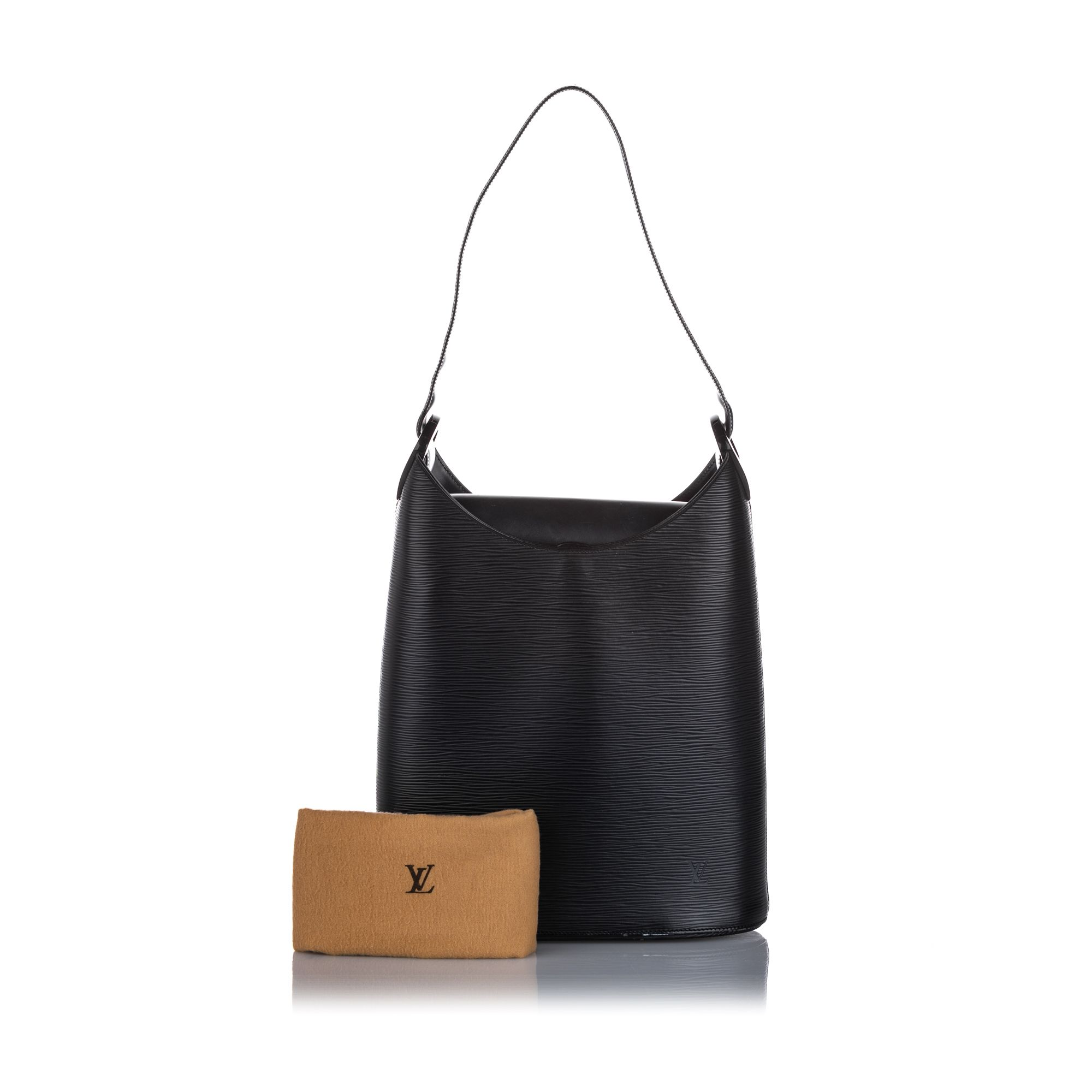 Vintage Louis Vuitton Epi Sac Verseau Black