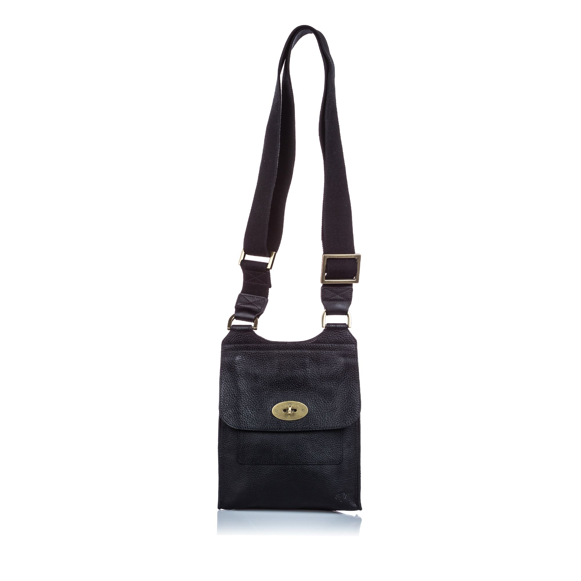 Vintage Mulberry Antony Messenger Bag Black