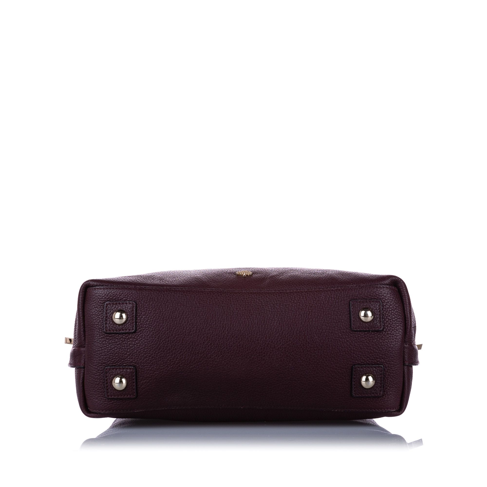 Vintage Mulberry Leather Satchel Brown